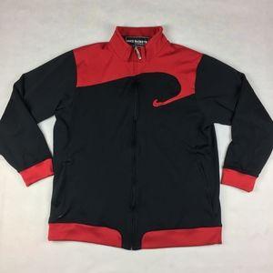 Mens XXL Nike Fit Basketball Jacket Red/black